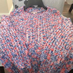 Gianni Bini girls large sweater. NWT